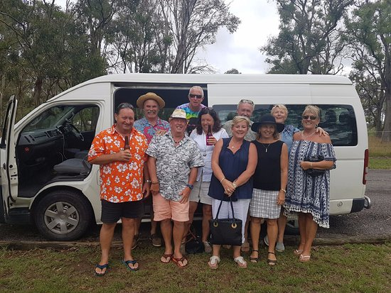 Newcastle, Australia: We use minivans for larger groups