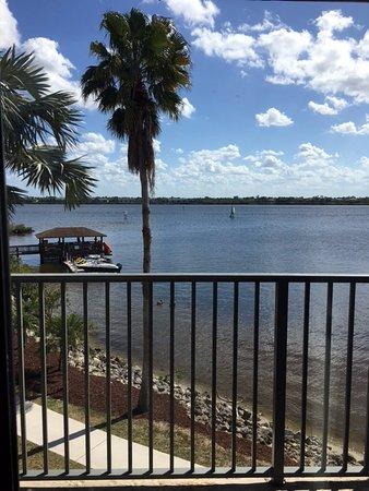 Port Saint Lucie, FL: Bay view from balcony