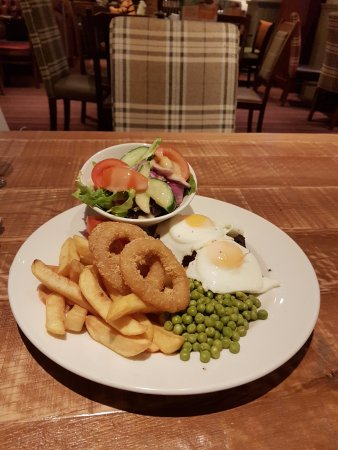 South Normanton, UK: My 'LITTLE' evening meal...