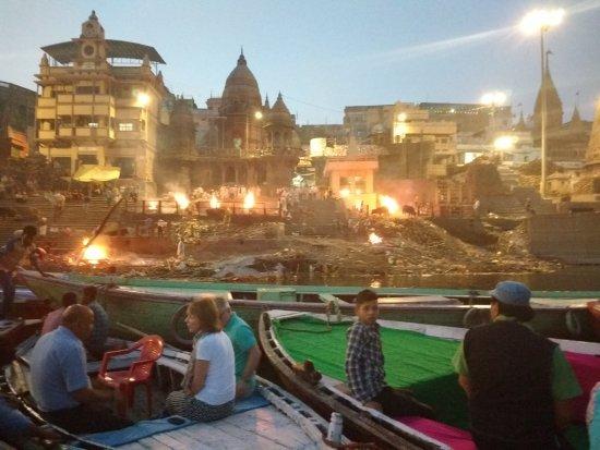 Suryauday Haveli - An Amritara Resort: Public cremations
