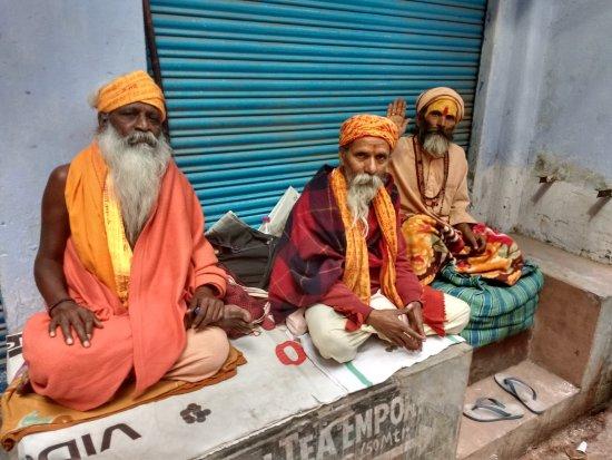 Suryauday Haveli - An Amritara Resort: Walking the streets of Varanasi