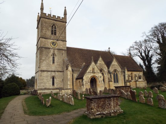 Bladon church