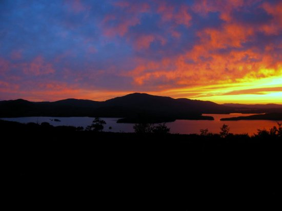 Greenville, ME: Sunset is a Blair Hill tradition