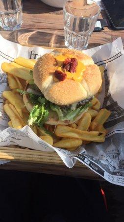Le Super Megeve : burger fromager