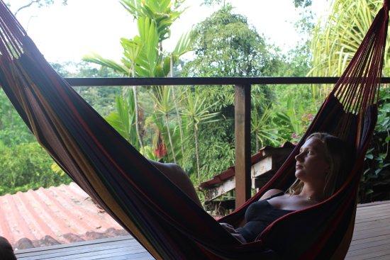 Princesa de la Luna Eco Lodge: The hammock I was talking about <3