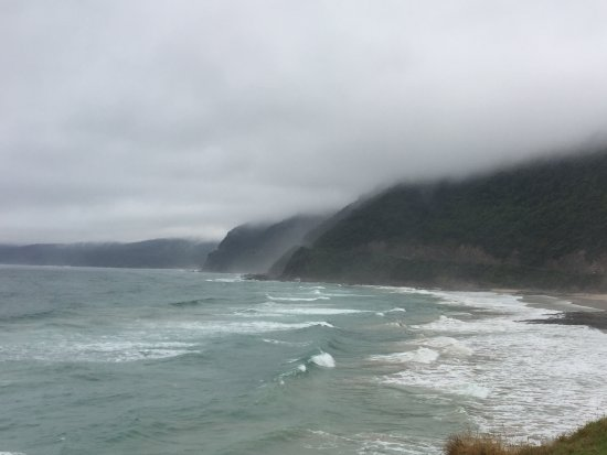 Natural Treasures Tour - Day Tours: The stormy weather created a moody backdrop for the scenery