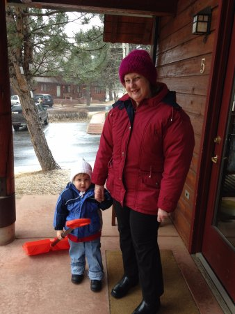 Rams Horn Village Resort: Gabriel &Grandma