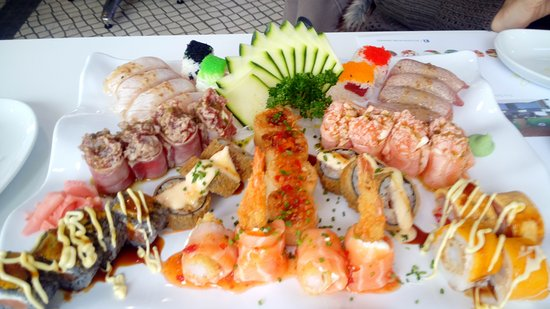 Caparica, Portugal: Sushi