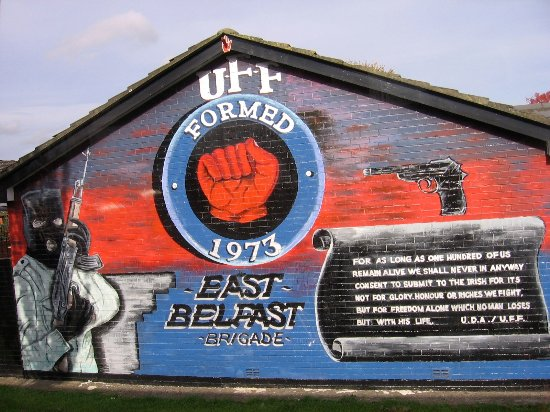 Political Tour-Conflicting Stories: UFF mural