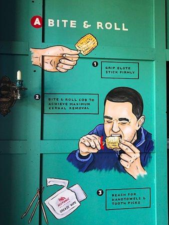 Frewville, Australia: How to eat Elote