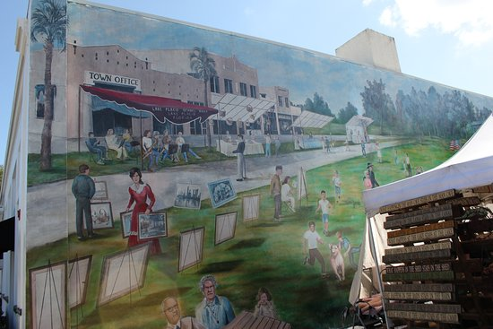 Lake Placid, FL: Fun murals