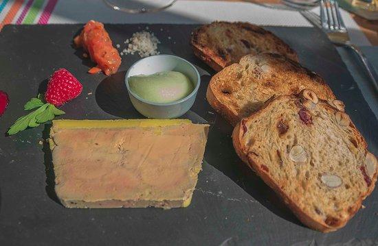 Duclair, Francia: Foie gras