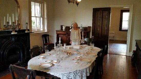 Bellamy Mansion: Main dining - in the basement