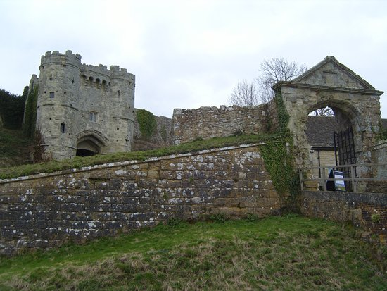 Newport, UK: Prison for a King!  Charles I was held at Carisbrooke Castle prior to trial and execution in 164