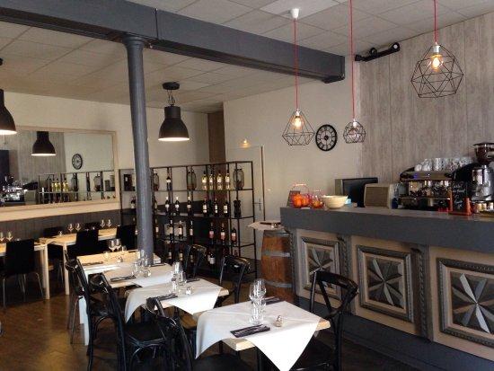 Votre nouvelle équipe à La Table du Boucher à Barsac : Agnes, Cedric et votre nouveau chef Rudy