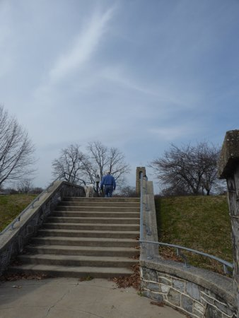 Baker Park: Stairs