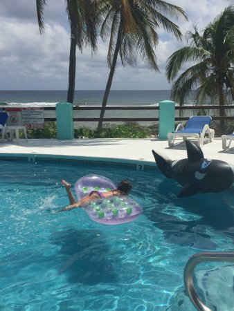 Pirates Point Resort: Our daughter playing in the pool...