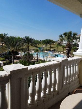 View from lanai building B.. Sand Creek Villa.