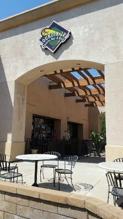 Upland, CA: Street View and Patio