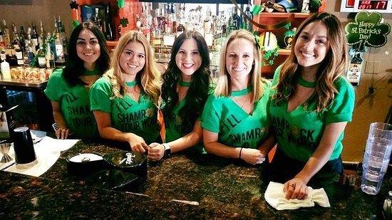 Upland, CA: St. Patty's Day Celebration - the ladies are waiting for you