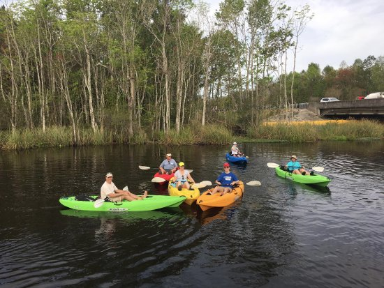 Family Kayak Tours of Amelia Island