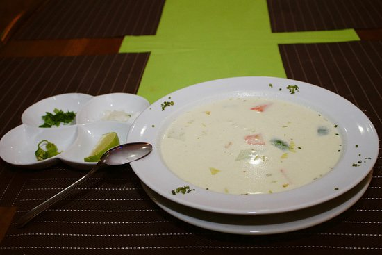 Orange Walk, Belize: A favorite in the house, Fisherman Soup!