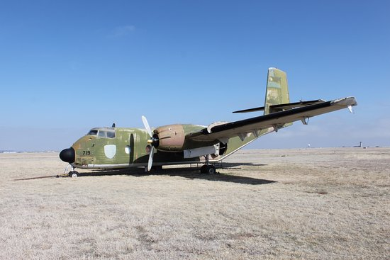 Texas Air & Space Museum : The C-7A Caribou, another plane you can go into