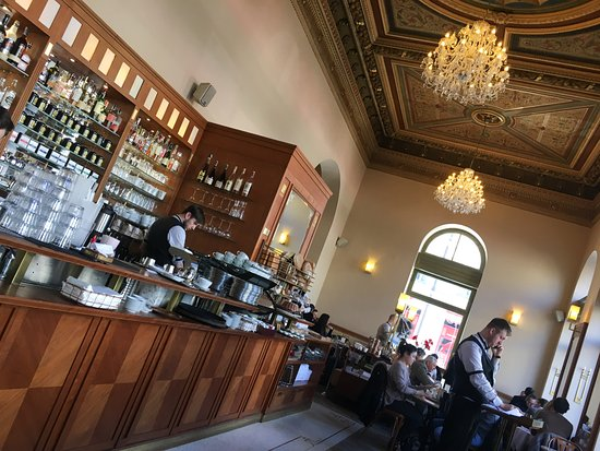 Cafe Savoy: Bottom floor, near entrance