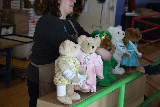 Shelburne, VT: Custom Bears