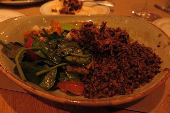 Beat Brasserie : Mediterranean ground beef