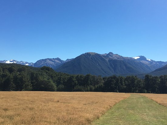 Arthur's Pass National Park, Nueva Zelanda: View from the pasture