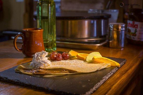 Saint-Cuthbert, Canada: Crêpe Nutella