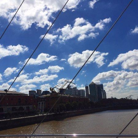 Photo of Bridge Puente de la Mujer at Porto Madero, Buenos Aires, Argentina