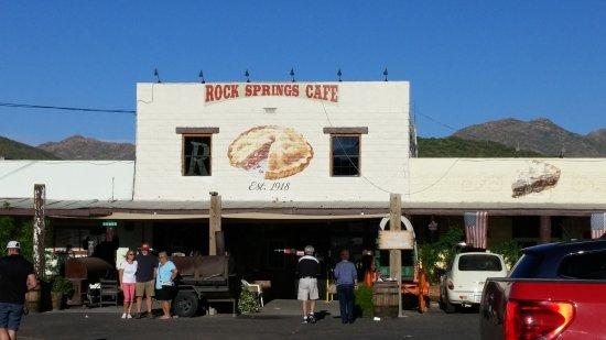 Black Canyon City, AZ: Entrance to Rock Springs Cafe
