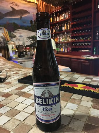 Turneffe Island, Belize: Belikin is the local Belizian beer...they have 3 varieties