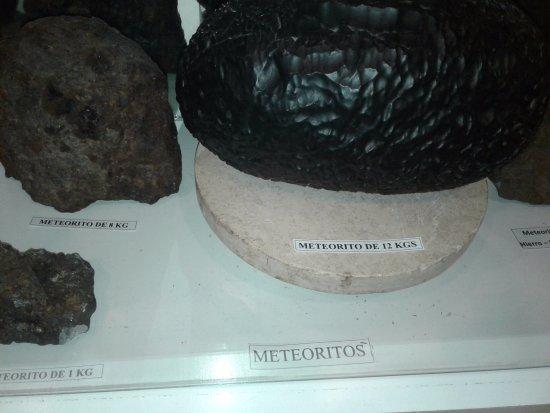 Museo del Lago Gutierrez : meteoritos