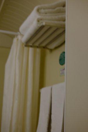Chun Shen Jiang Hotel: twin room's bathroom