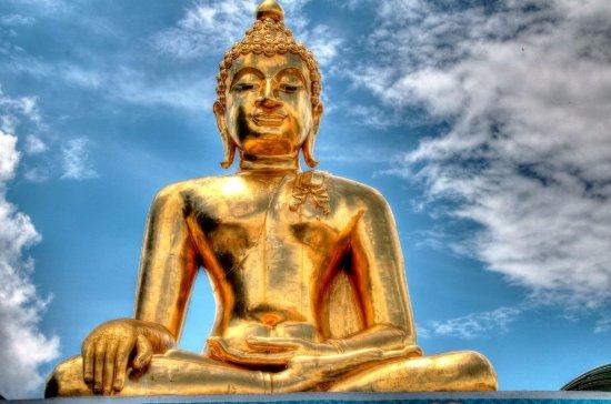 Chiang Saen, Thailand: Sitting Buddha