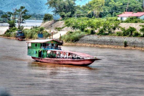 Chiang Saen, Thaïlande : Along the Mekong River