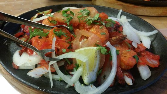 West Columbia, SC: Tandoori shrimp