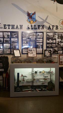Colchester, Βερμόντ: Air Guard Display