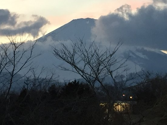 Gotemba, Japão: Mt Fuji visible from the Outlet