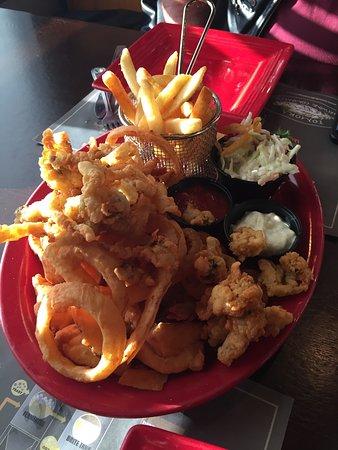 พอร์ตออเรนจ์, ฟลอริด้า: clams, scallops, shrimp, Fish, Fries Onion rings & Coleslaw