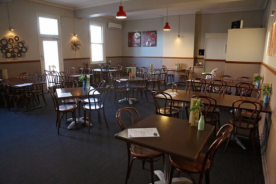 Gunnedah, Australia: Relaxed and comfortable dining