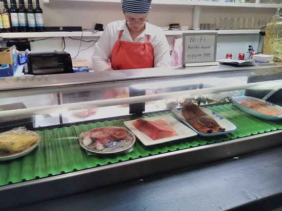 Kuniko's Teriyaki Grill: fish selection
