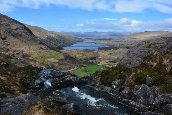 Kenmare, Ireland: From top of the falls