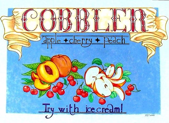 Delaware, OH: Finish your meal with a huge serving of our Cobbler of the day.
