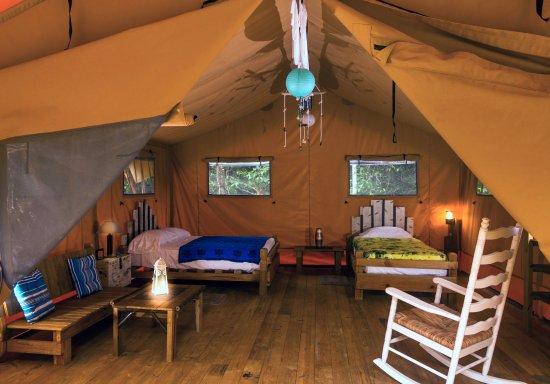 Isla Popa, Panama: Tente lodge safari