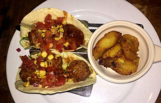 Μέλβιλ, Νέα Υόρκη: seitan tacos! Amazing!