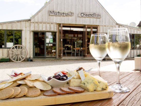 The Cheese Barn: Enjoy a glass of wine with your cheeseboard